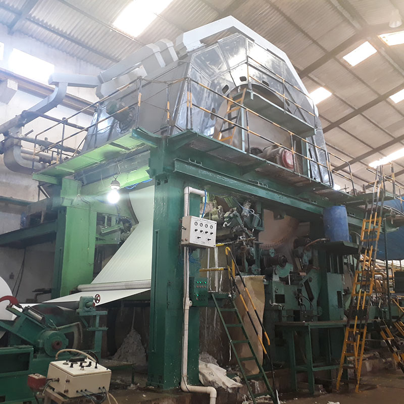 Tissue Paper Machine Manufacturers | Suppliers | Exporters in